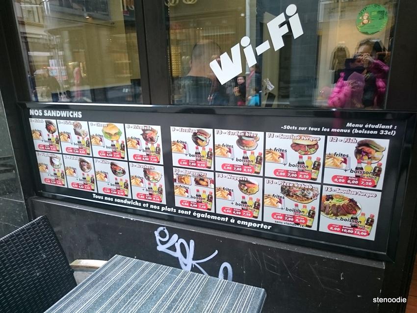 Snack Ankara menu