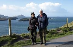 Bianca and Mauro in Valentia Island.