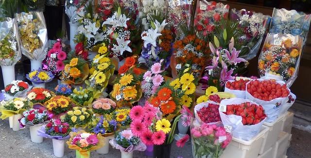 Flowers in Tallinn