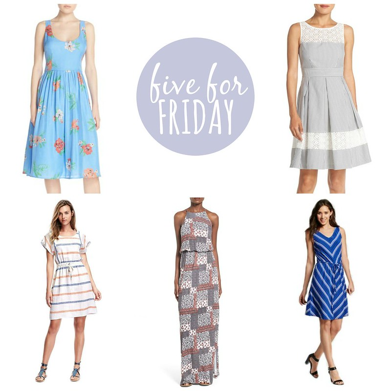 five for friday summer dresses | Style On Target