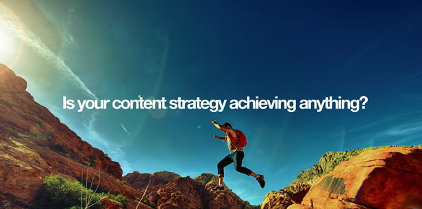 Accomplishing something with your content creation and engagement strategy