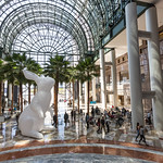 Interlude bunnies at Brookfield Place