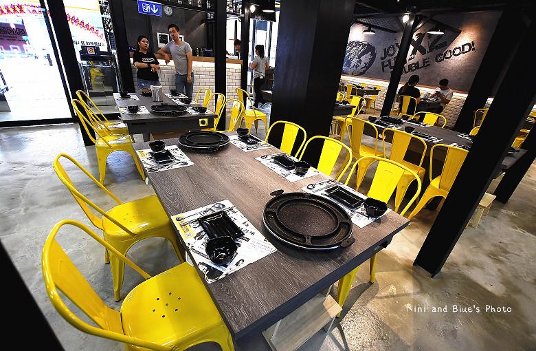 打啵G台中韓式料理烤肉串菜單menu價位12