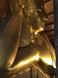 Imagine de Reclining buddha - Wat Pho. thailand buddha watpho buddhatemple