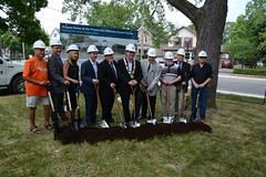Welland POA Court Groundbreaking