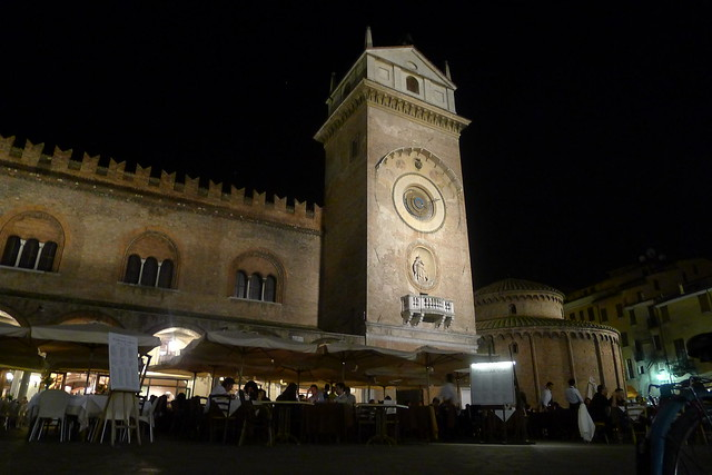 Mantova city tower