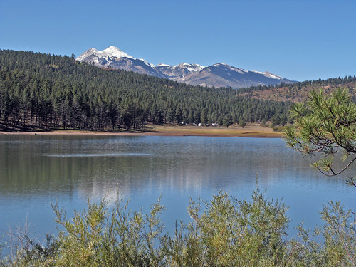 Buckeye Recreation Area on the Manti-La Sal National Forest in southwestern Colorado. U.S. Forest Service photo.