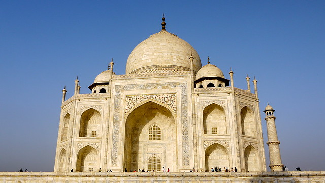 The Taj from the east