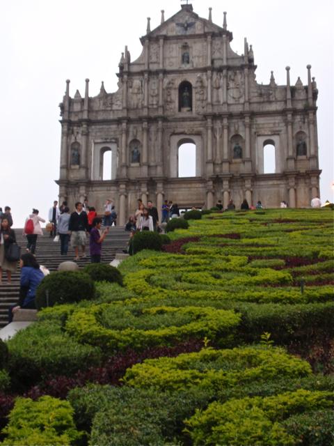Macao St Paul's ruins