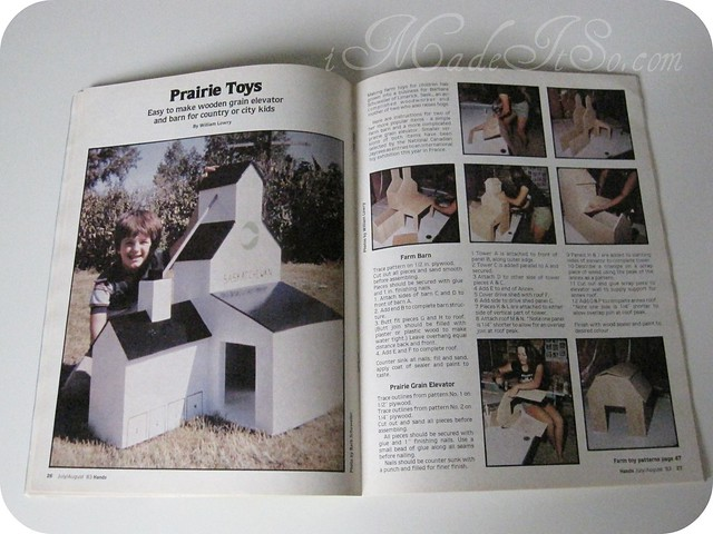 hands magazine prairie toys