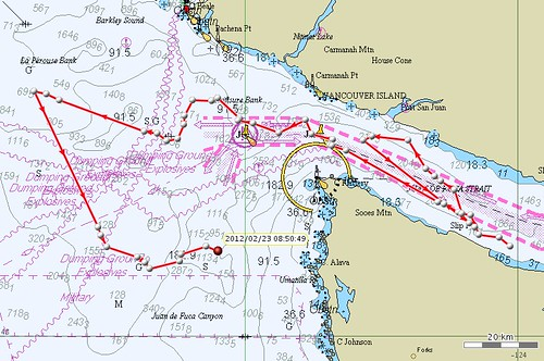 Tagged SRKW map