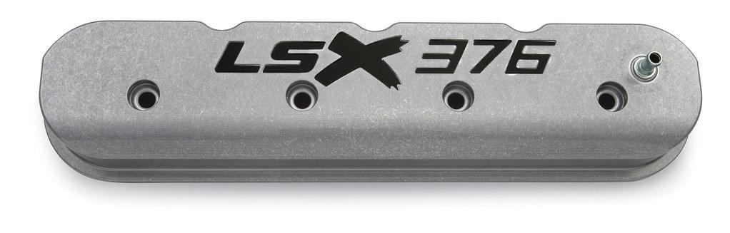Valve Cover Kit – LSX 376, polished | Polished finish with b
