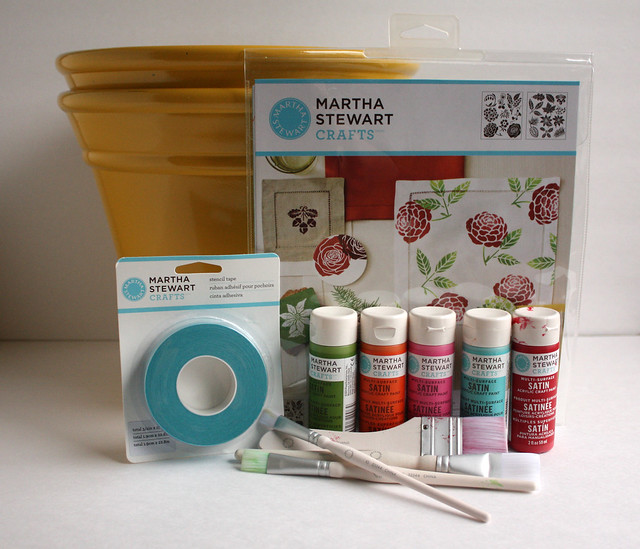 Martha Mother's Day Flower Pot - Materials