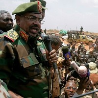 Sudan President Omar Hassan Al-Bashir rallies the nation in support of the SAF during the escalating military and political conflict with the newly-created South Sudan. Sudan has retaken control of the Heglig oil fields in South Kordofan state. by Pan-African News Wire File Photos