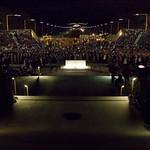 Crowds at ANZAC Day Dawn Service, 2012