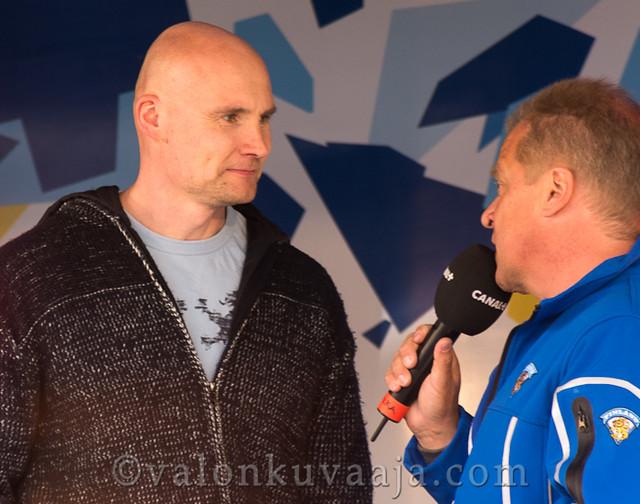 Timo Lehkonen ja Jukka Laaksonen