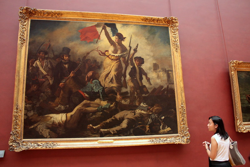 Eugene Delacroix's Liberty Leading the People