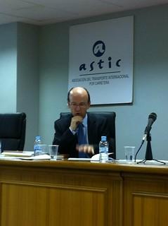 Alberto Emparanza en ASTIC