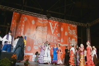 video 01 Gala Clausura Volantes de Compas V Feria Abril Las Palmas de Gran Canaria 2012