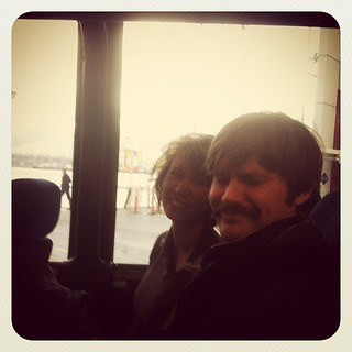 On the bus to Whistler with @thestraymuse and @louderthan10