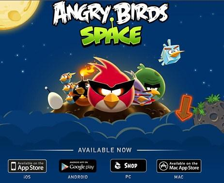 Angry Birds Space download now