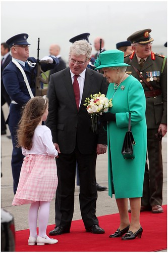 Queen Elizabeth visit to Cork photo
