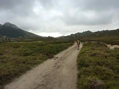 La piste de retour vers le Pianu et le Castellu d'Urnucciu