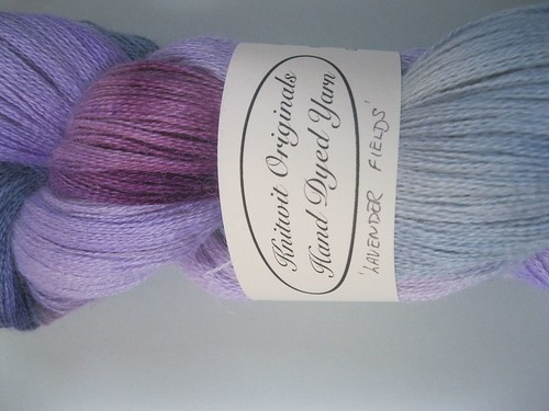 Super lace weight yarn