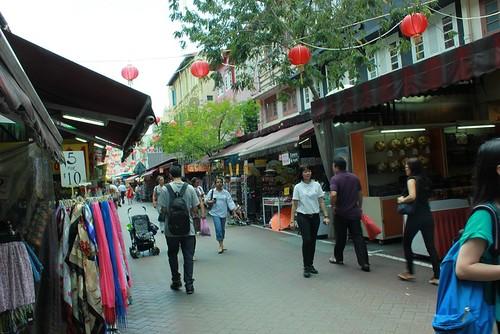 chinatown singapore street market