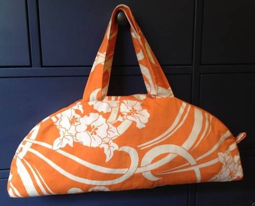 orange slice handbag