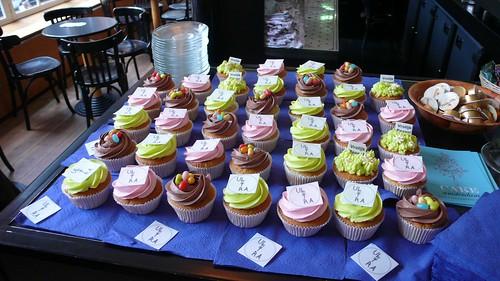 ULTRA Festival MELKWEG cupcakes by CAKE Amsterdam - Cakes by ZOBOT