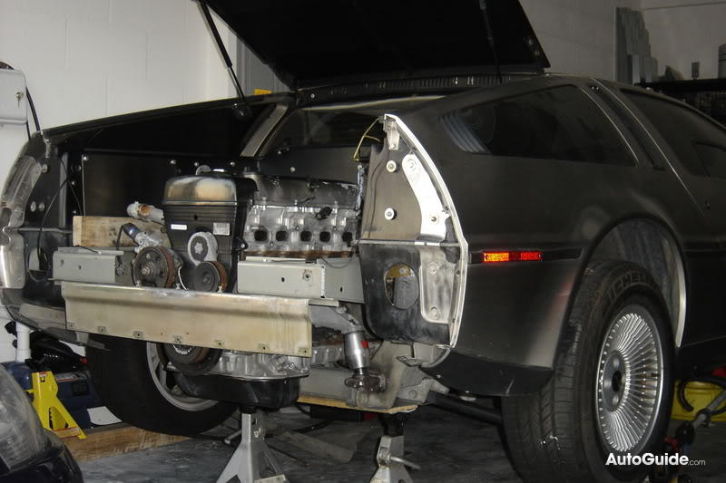 The Amazo Effect: No Wattage Required - Toyota 2JZ Powered DeLorean
