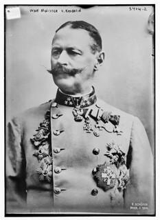 War Minister V. Krobatin  (LOC)