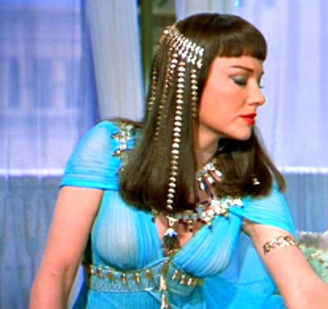 Anne Baxter, in ''The Ten Commandments'' 1956 - a photo on Flickriver | 500 x 471 jpeg 122kB