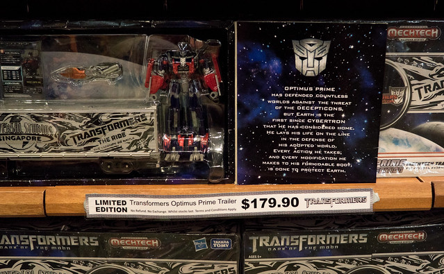Transformers Optimus Prime Singapore Exclusive