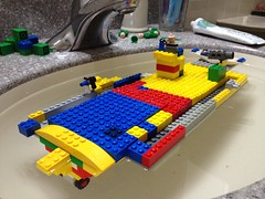 Kai's Lego Aircraft Carrier
