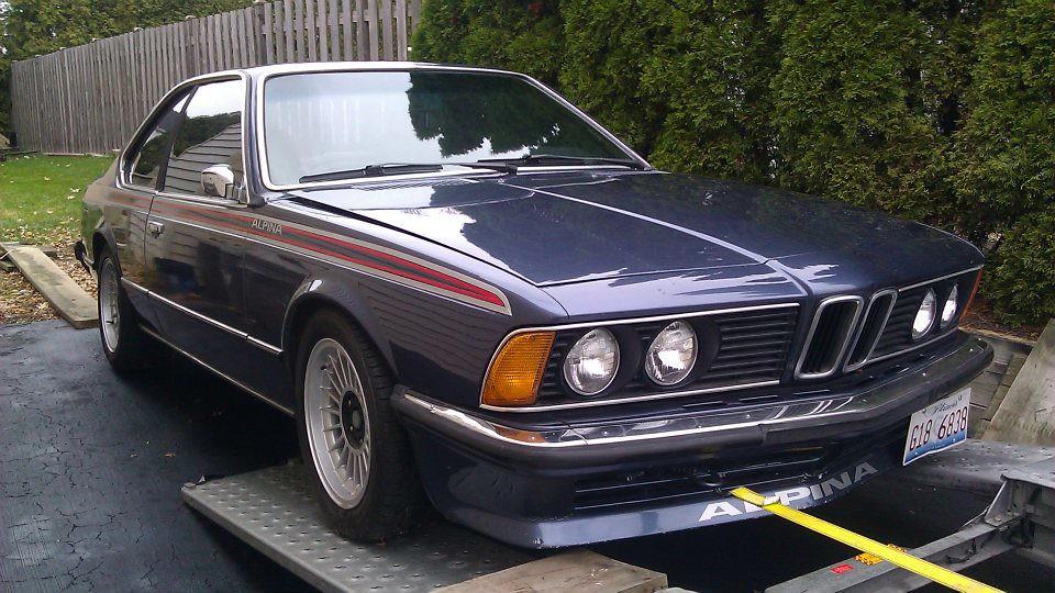 The 325is 1981 Bmw Euro Alpina 635csi 14000 Gurnee