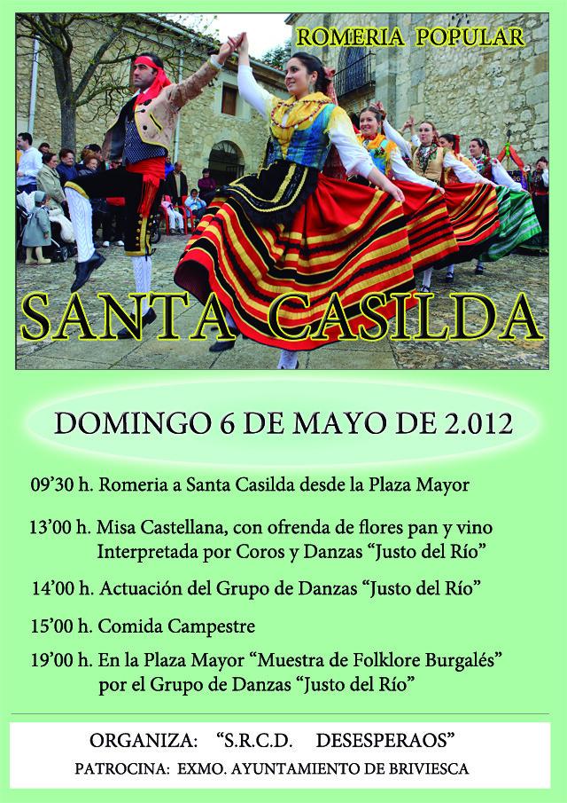 Romeria a Santa Casilda blog