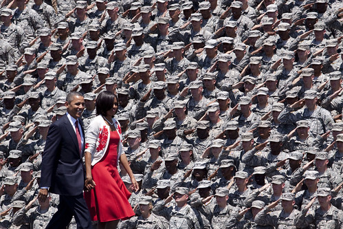 Saluting the Commander-in-chief