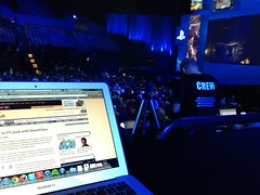 Getting ready for Sony presser at #E3