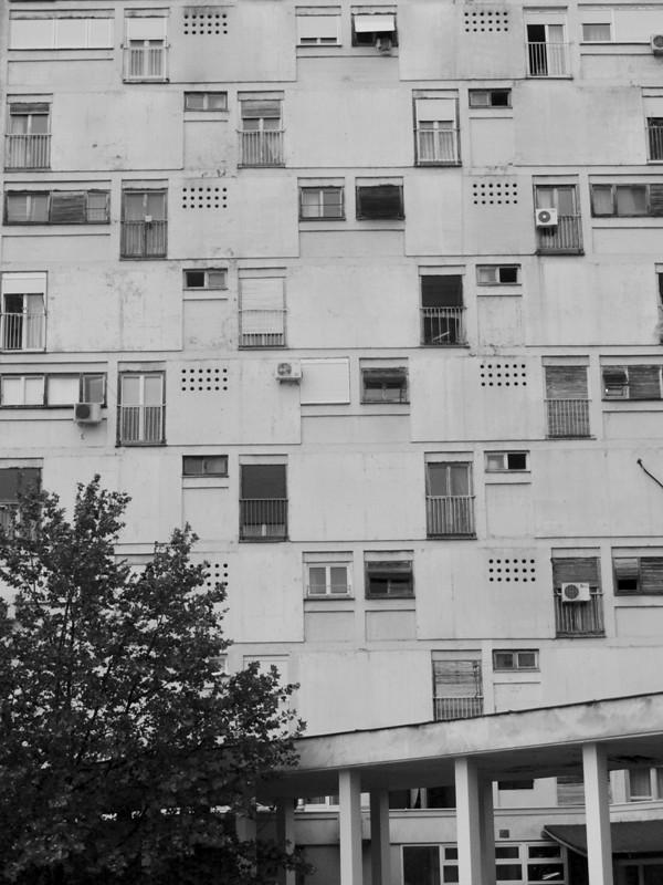 Immeuble austère@Podgorica