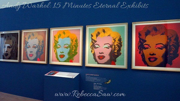 Andy Warhol 15 Minutes Eternal Exhibits - ArtScience Museum, Singapore (9)