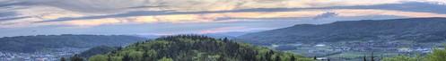 panorama schweiz switzerland nikon sonnenuntergang ag 1855mm nikkor aargau hdr vr afs dx verein aussichtsturm f3556g 8108 altberg dällikon d5100
