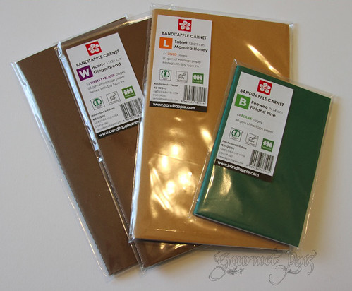 Banditapple Carnet Packaging