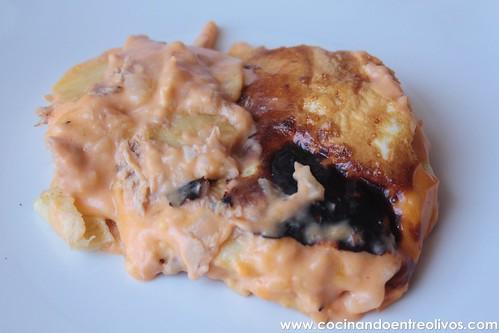 Patatas con bechamel y atún (14)