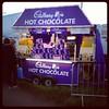Cadbury's stand