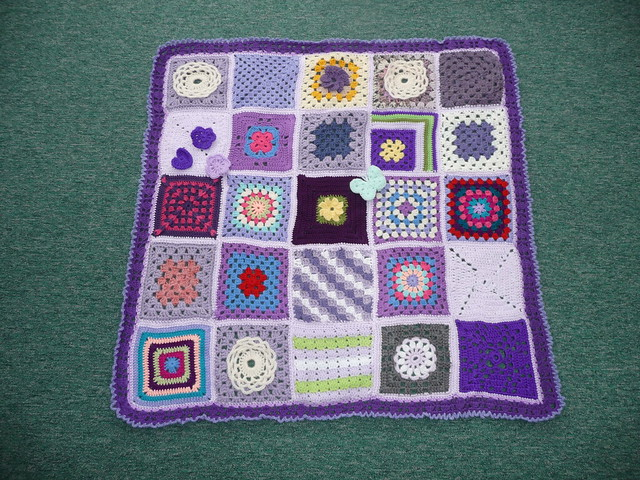 Thanks to everyone that has contributed Squares for this blanket.