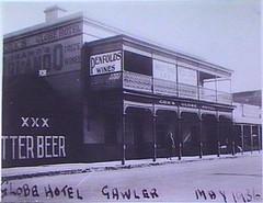 Murray Street 32 Globe Hotel 1936