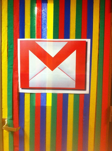 Mailroom Entrance Goes Google