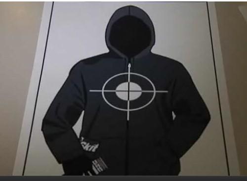 Full Trayvon Gun Target